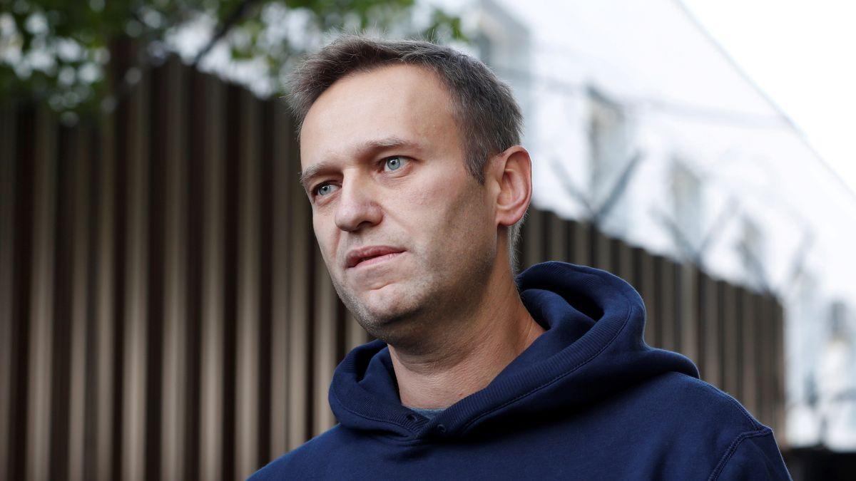 Archivbild: Alexej Nawalny, August 2019