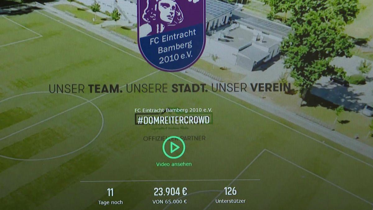 Crowdfunding-Aktion des FC Eintracht Bamberg
