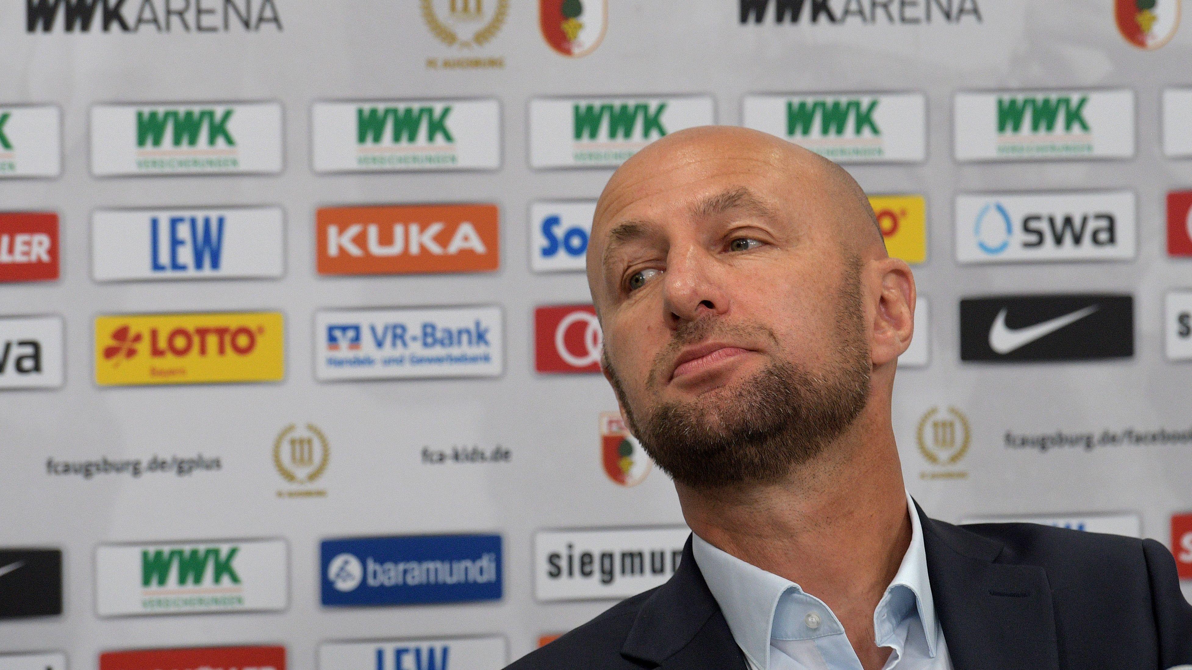Klaus Hofmann, Präsident des Fußball-Bundesligisten FC Augsburg