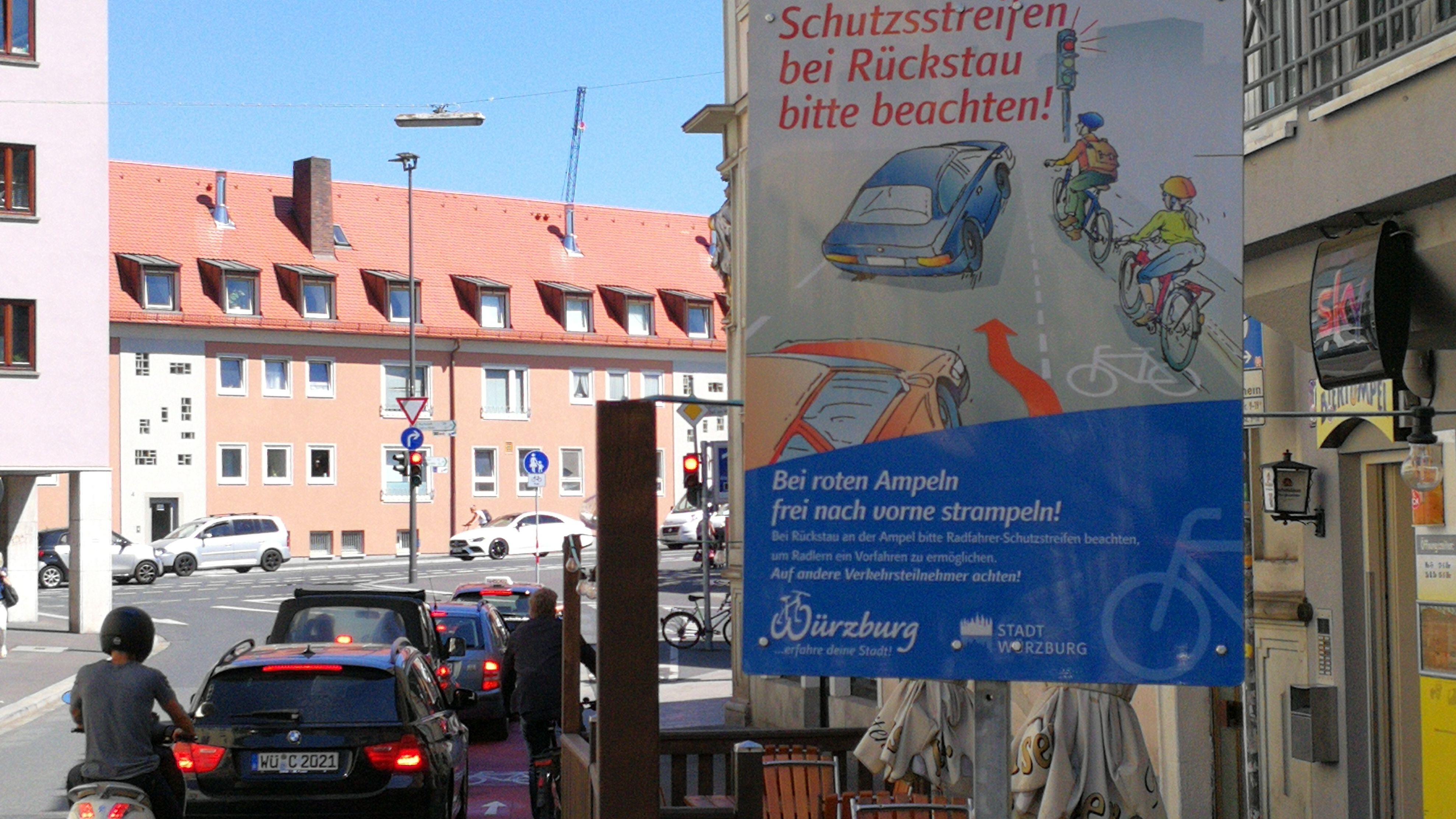 Fahrradunfreundliches Würzburg