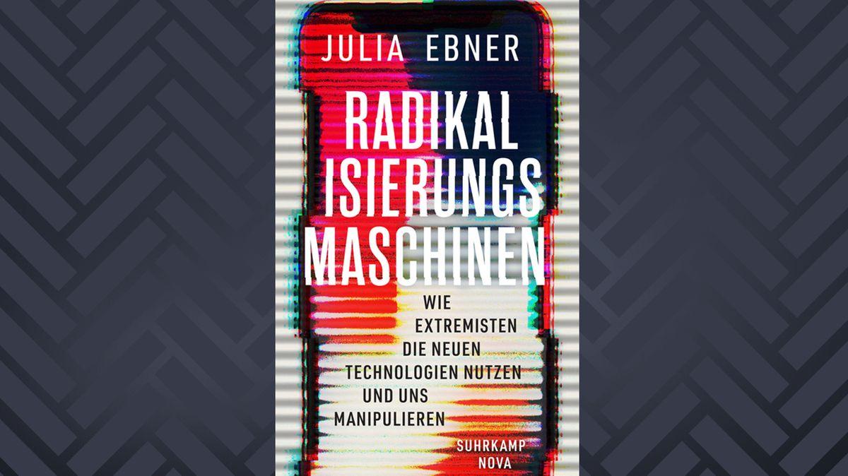 """Buch-Cover von """"Radikalisierungsmaschinen"""" von Julia Ebner"""