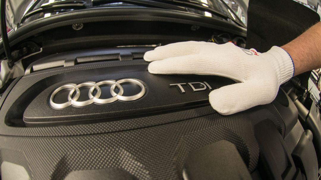 Audimotor im Werk