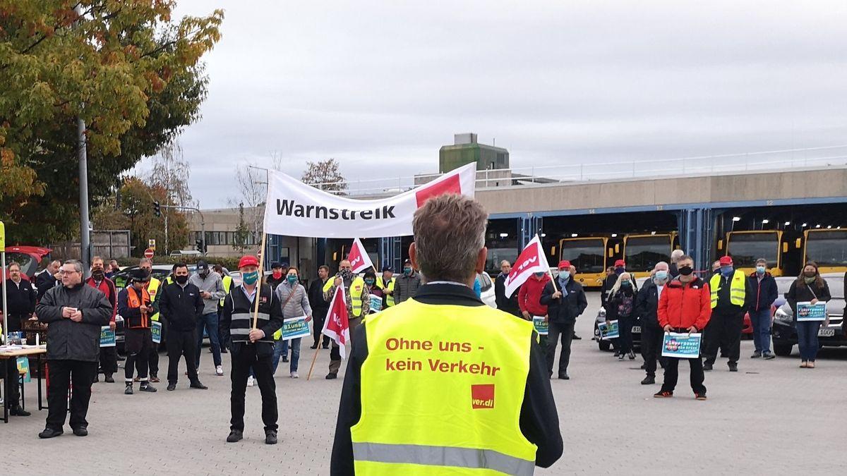 Busfahrer wollen zum Wochenbeginn wieder streiken.