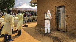 Ausbruch des Ebola-Virus im Kongo | Bild:dpa-Bildfunk/Al-Hadji Kudra Maliro