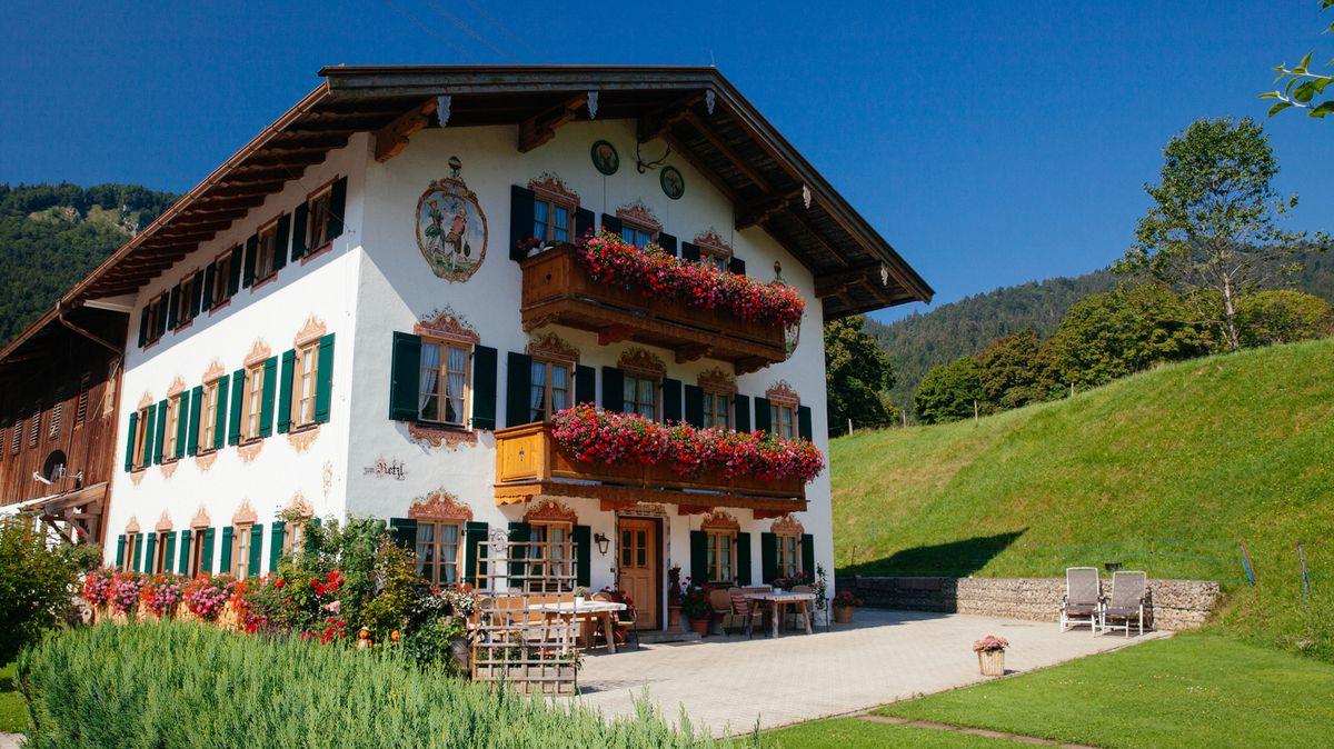Traditionelles Bauernhaus in Kreuth am Tegernsee