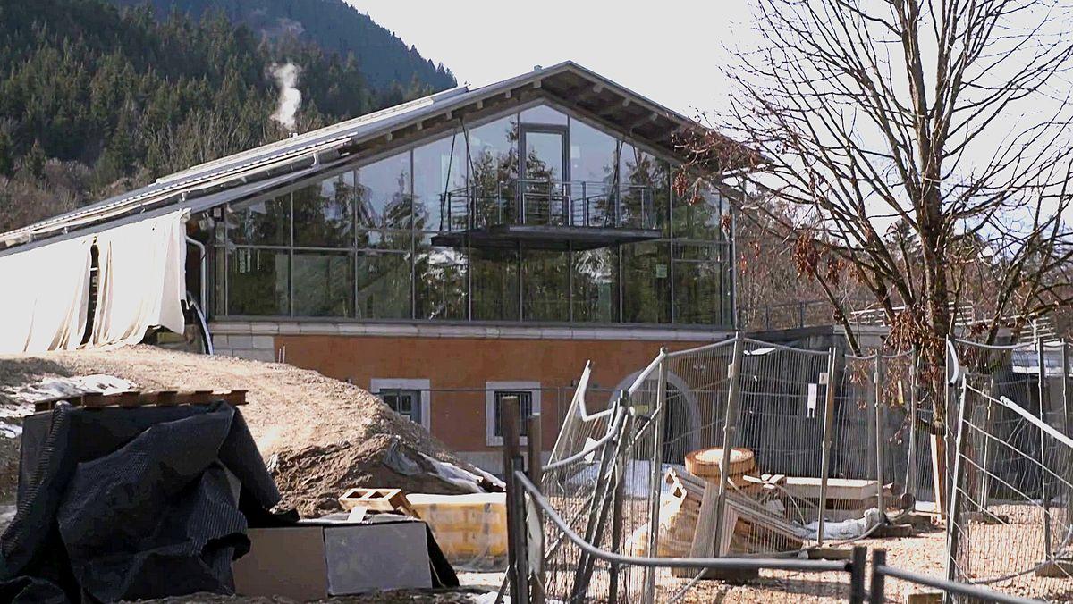 Baustelle auf dem Obersalzberg
