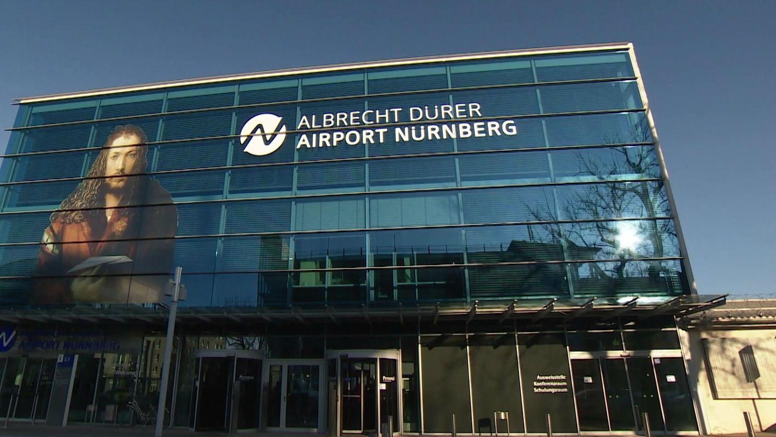 Außenansicht Flughafen Nürnberg