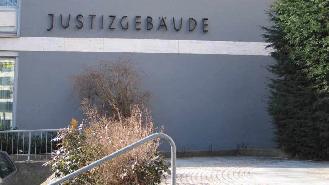 Das Justizgebäude in Aschaffenburg