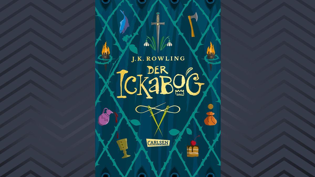 """Buchcover von J.K. Rowlings Märchenbuch """"Der Ickabog"""""""
