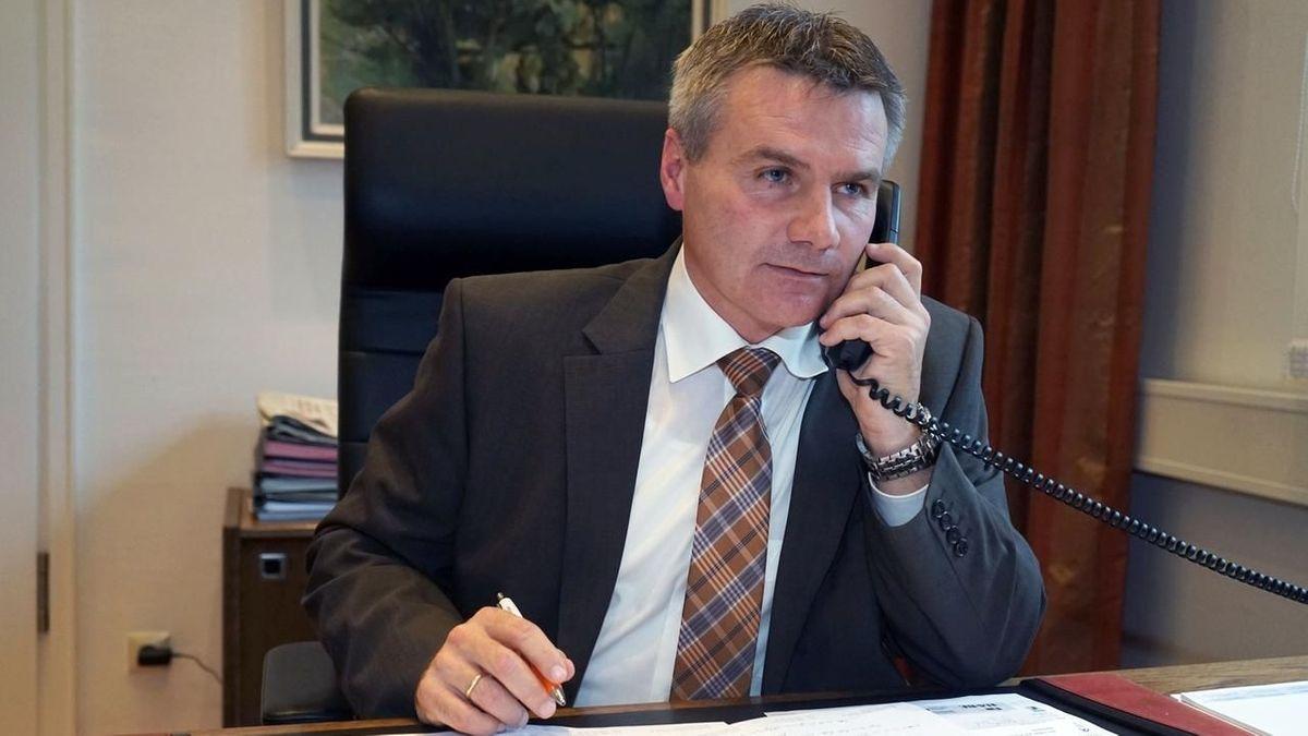 Peter Dreier, der Landrat von Landshut