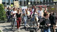 Fridays for Future-Demo in Würzburg   Bild:BR