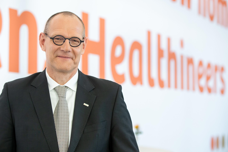Bernd Montag Vorsitzender der Geschäftsführung des Medizintechnikkonzerns Siemens Healthineers