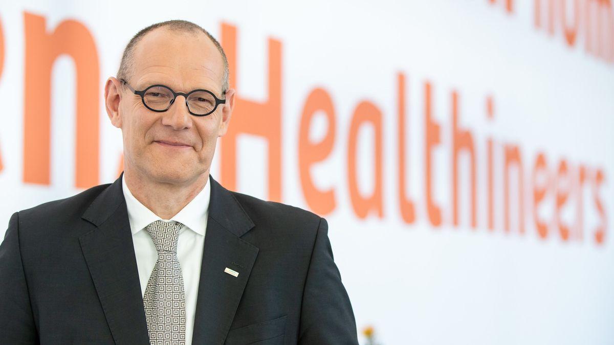 Bernd Montag, Vorsitzender der Geschäftsführung des Medizintechnikkonzerns Siemens Healthineers.
