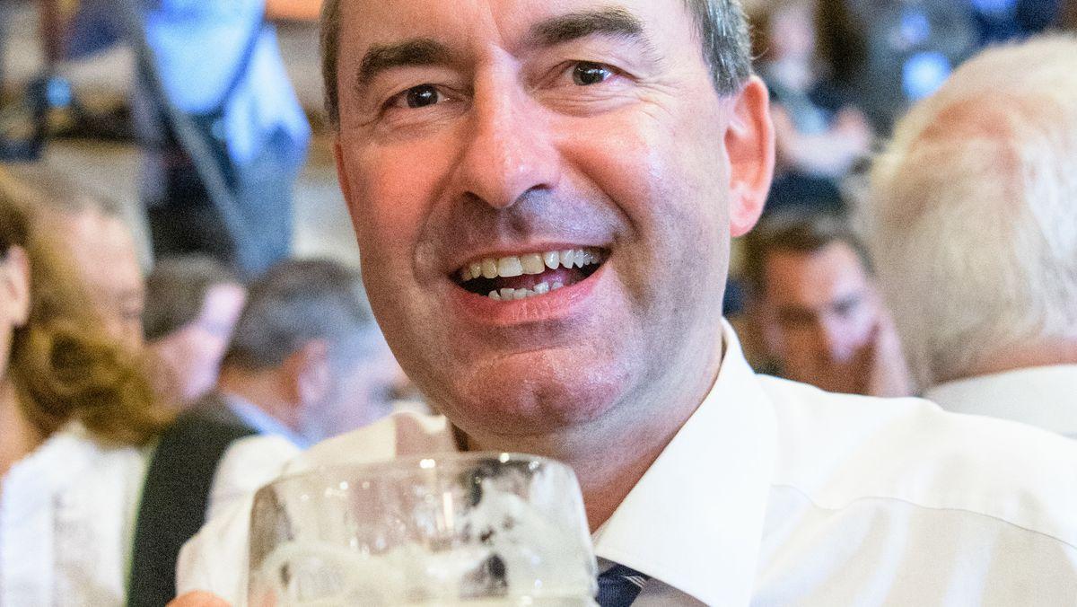 Hubert Aiwanger beim Gillamoos 2019