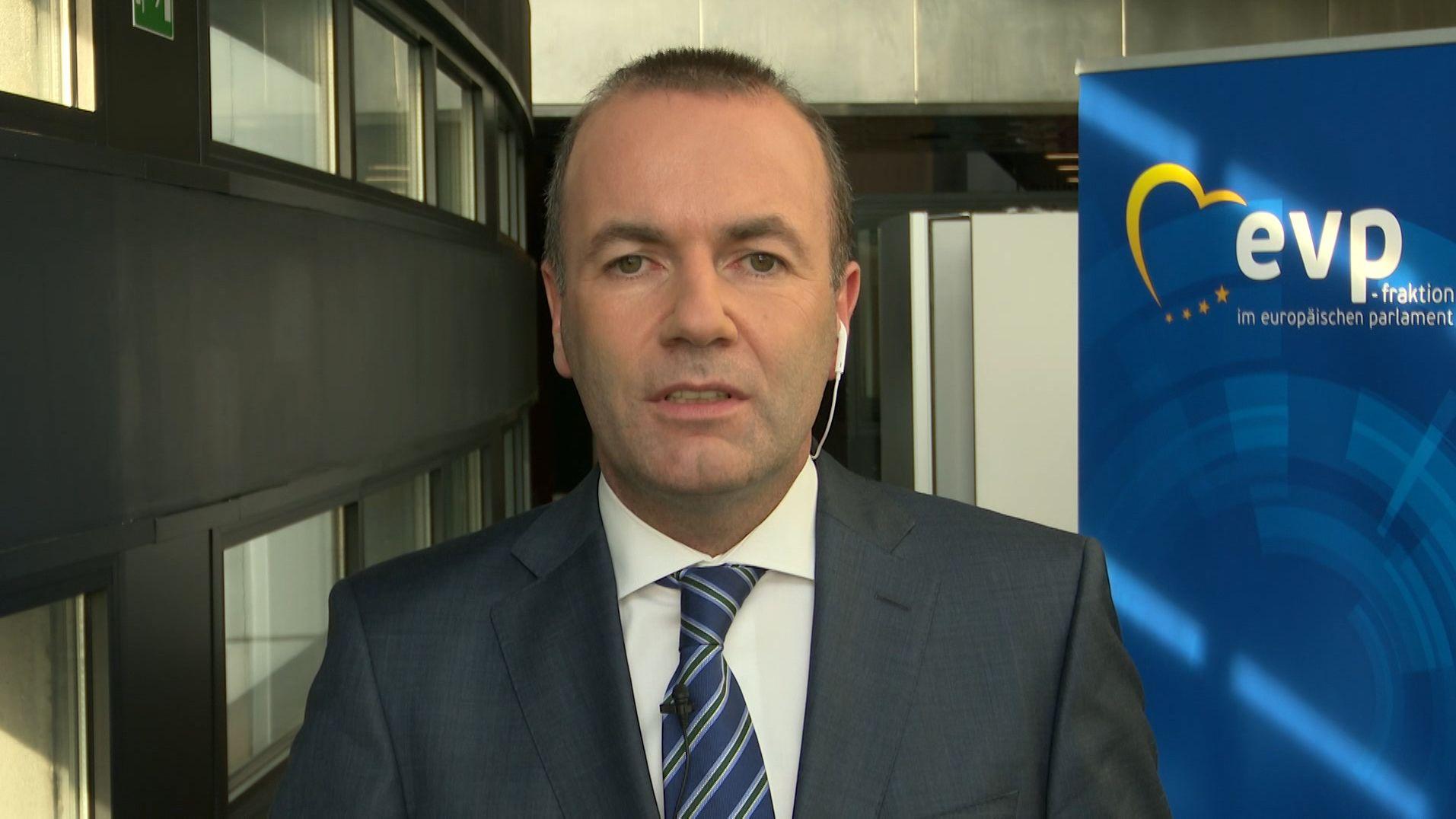 EU-Abgeordneter Manfred Weber