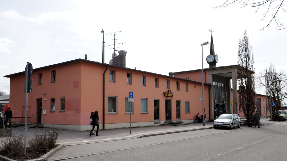 Bahnhof in Freising