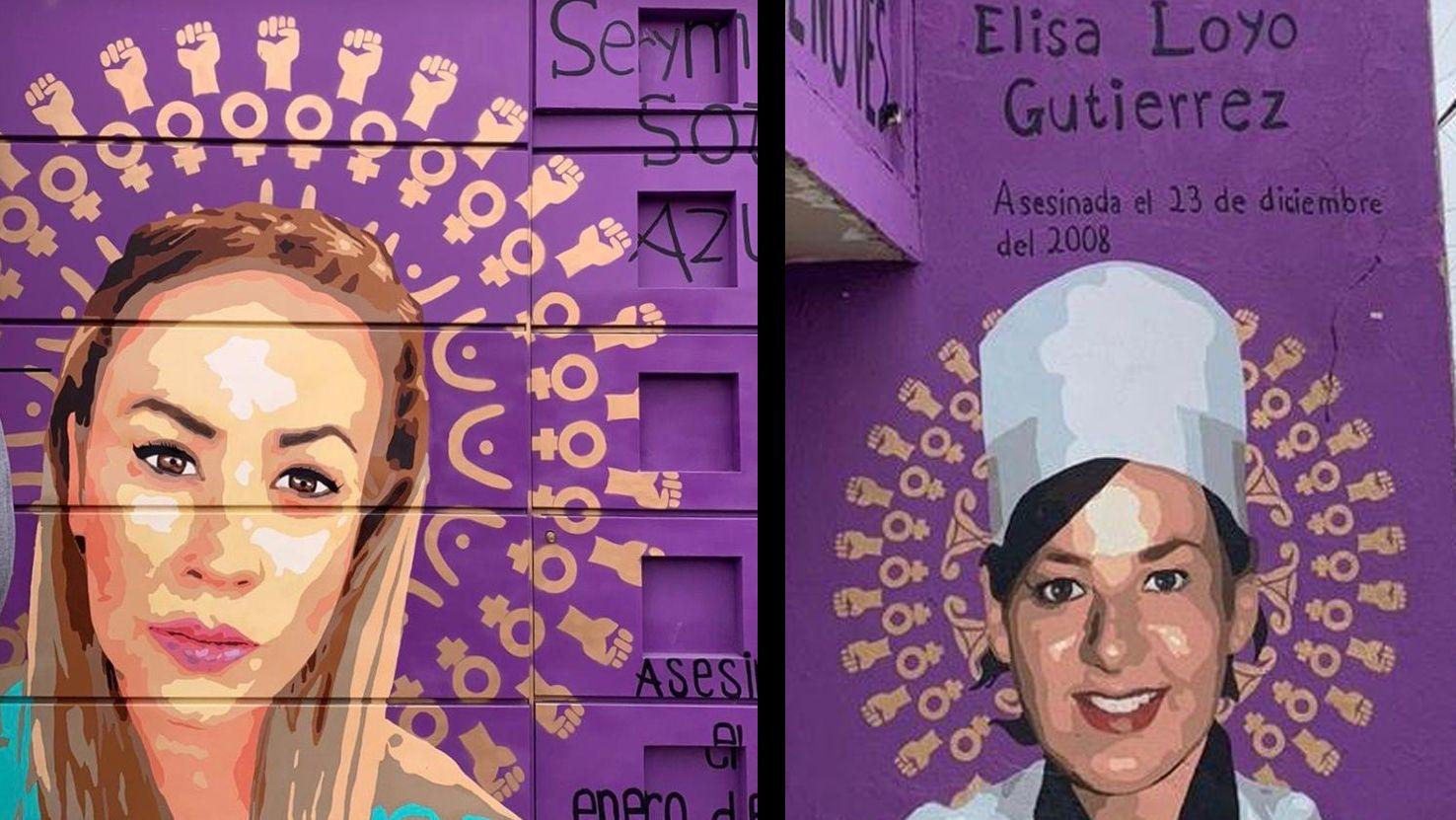 Zehn Frauen werden jeden Tag in Mexiko ermordet, zwei von ihnen sind Serymar und Elisa.