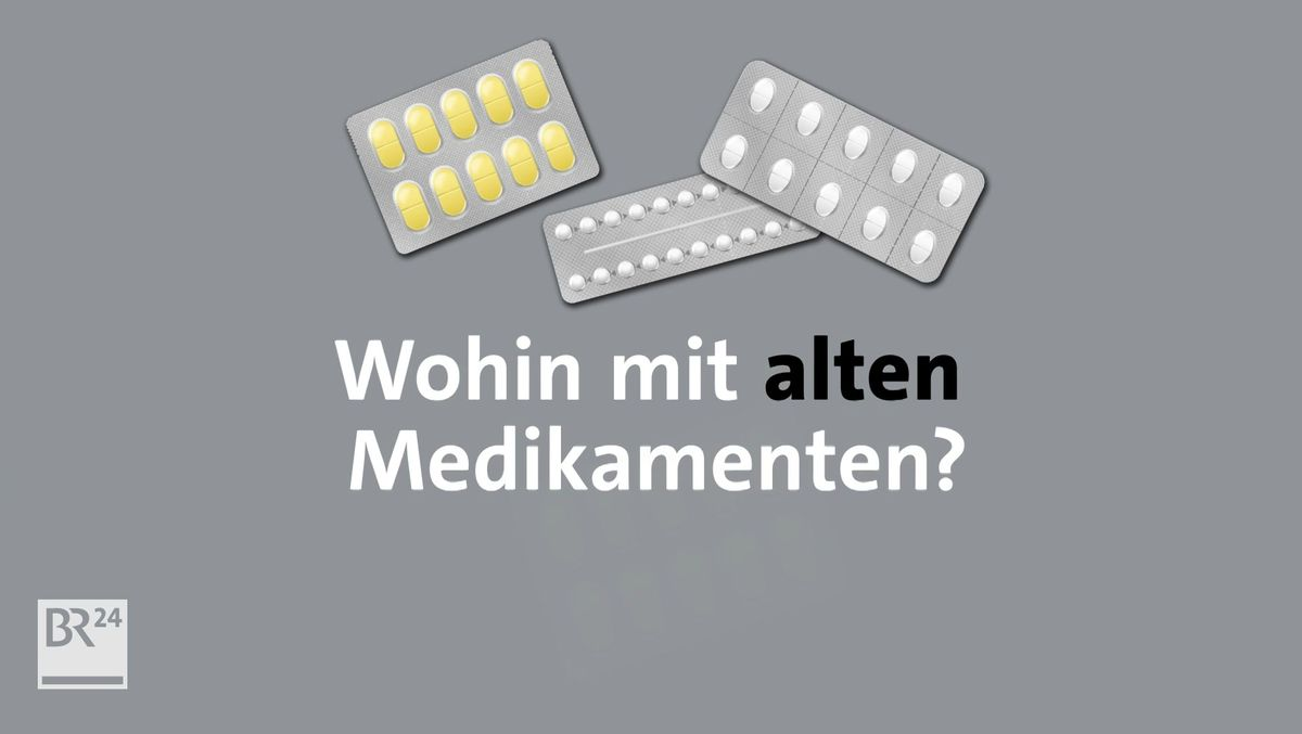 #fragBR24💡: Was tun mit alten Medikamenten?
