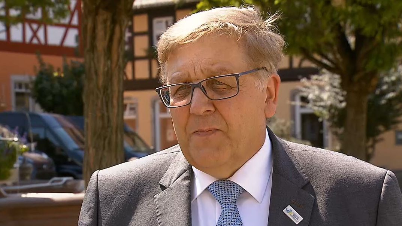 Landrat Helmut Weiß (CSU)
