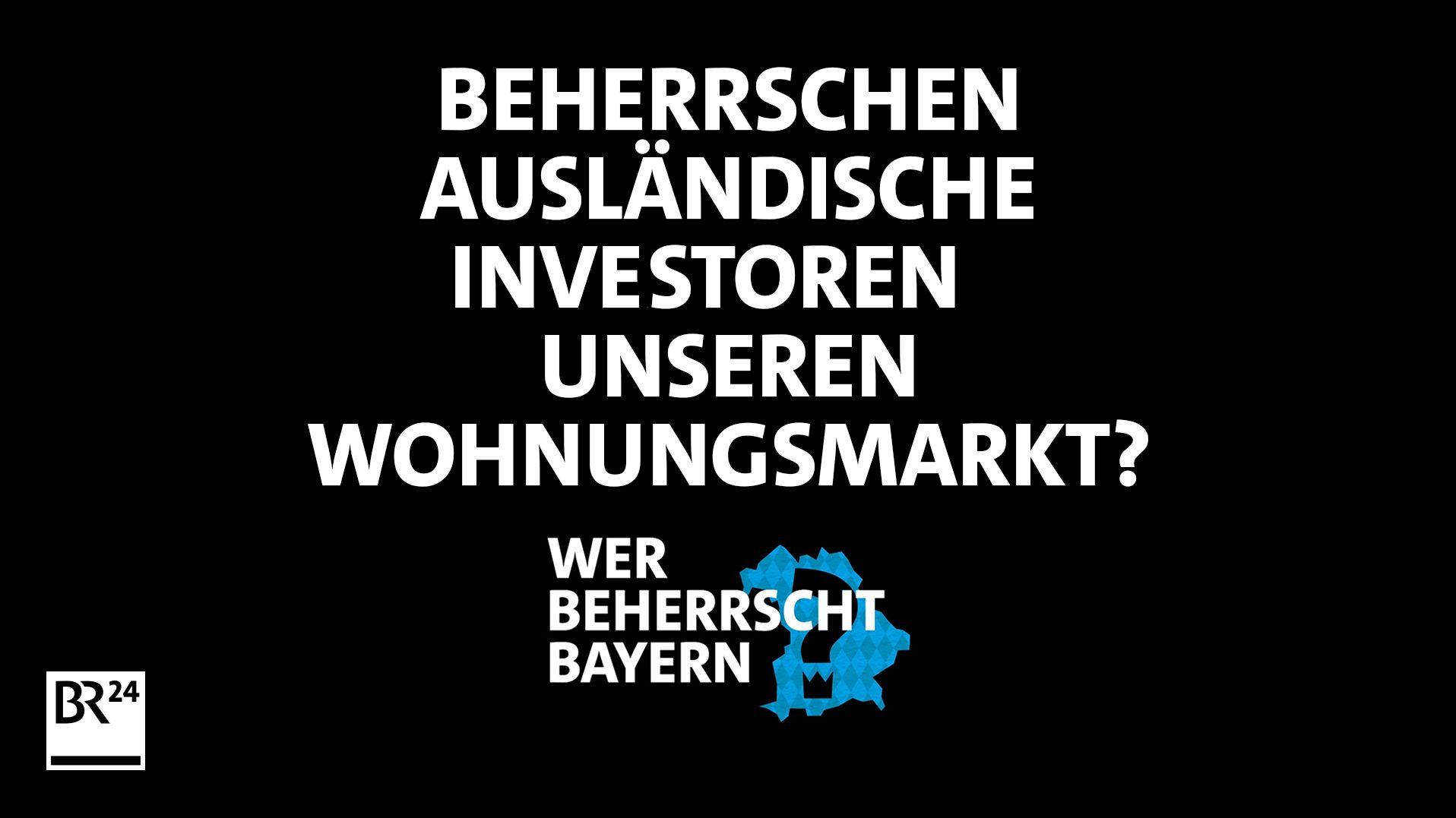 Beherrschen ausländische Investoren unseren Wohnungsmarkt?