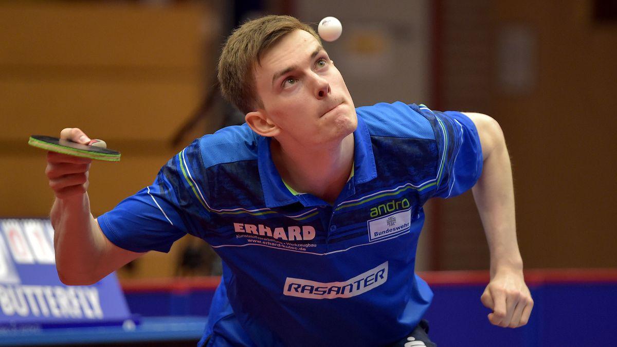 Tischtennis-Profi Kilian Ort aus Bad Königshofen