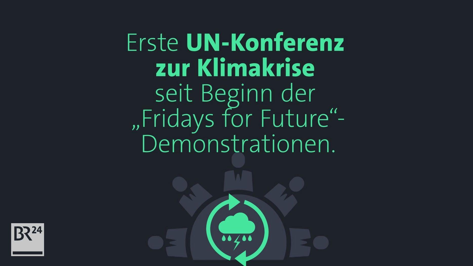 """Die erste UN-Klimakonferenz seit Entstehung der """"Fridays for Future""""-Bewegung findet in Bonn statt."""