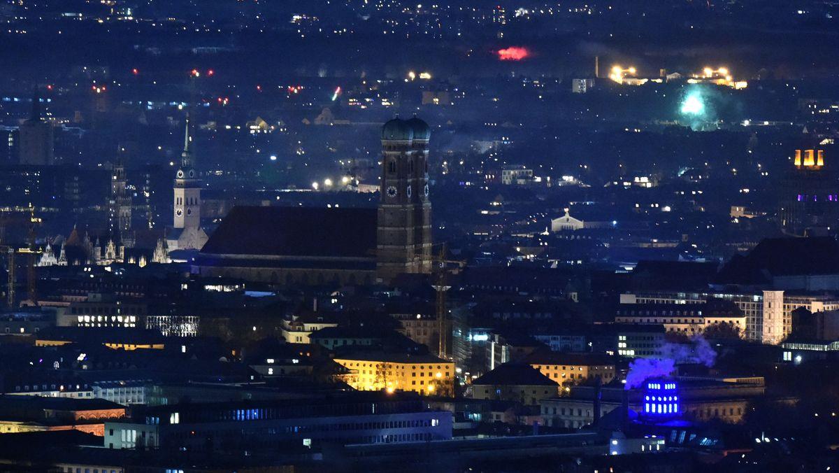 Silvester 2020: So sah der Jahreswechsel in München aus