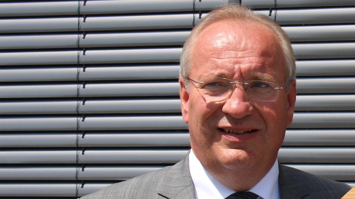 Chams Landrat, Franz Löffler (CSU)