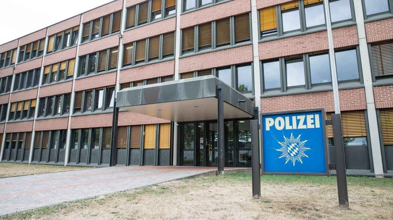 Das Polizeigebäude in Aschaffenburg
