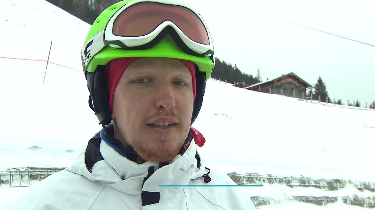 Special-Olympics-Teilnehmer Florian Arnold