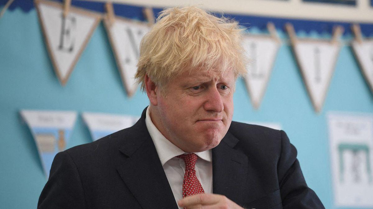 Boris Johnson am 20.07.2020 bei einem Besuch in Kent.