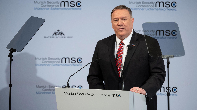 US-Außenminister Mike Pompeo auf der Münchner Sicherheitskonferenz