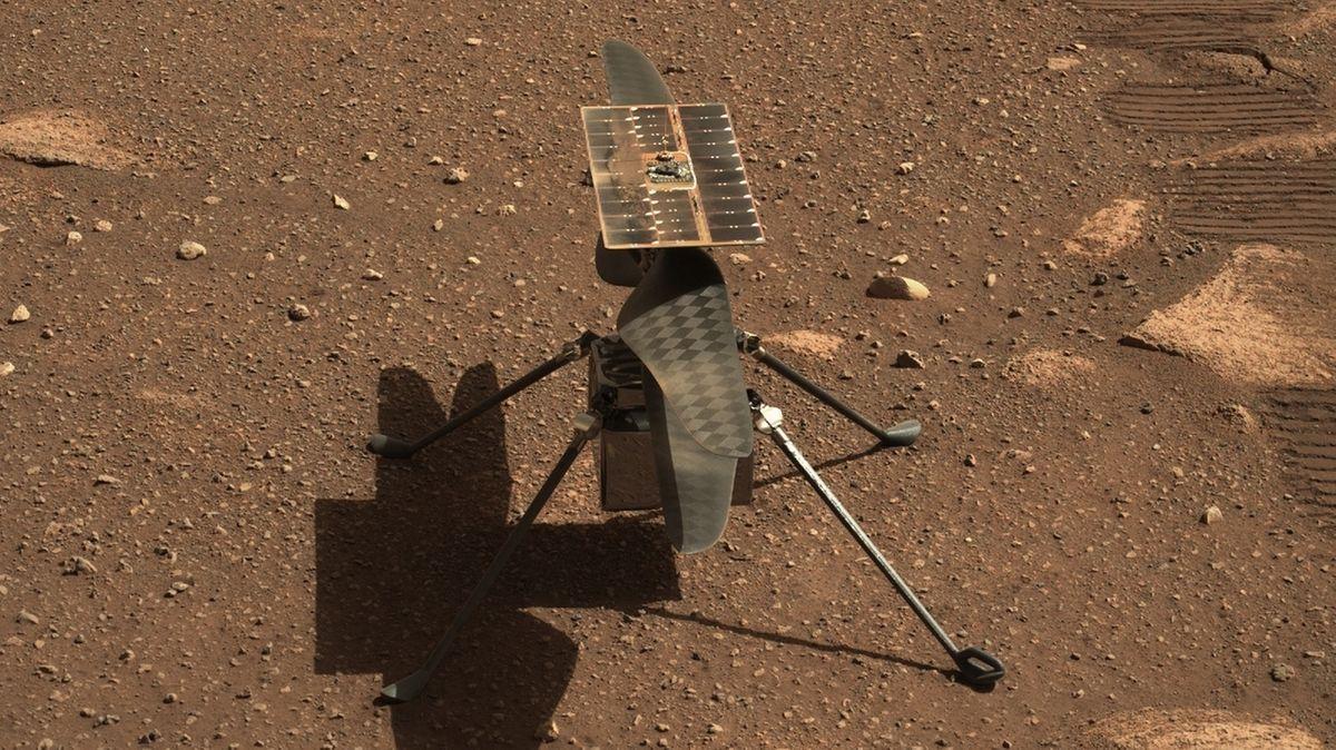 Ingenuity vor Erstflug auf dem Mars