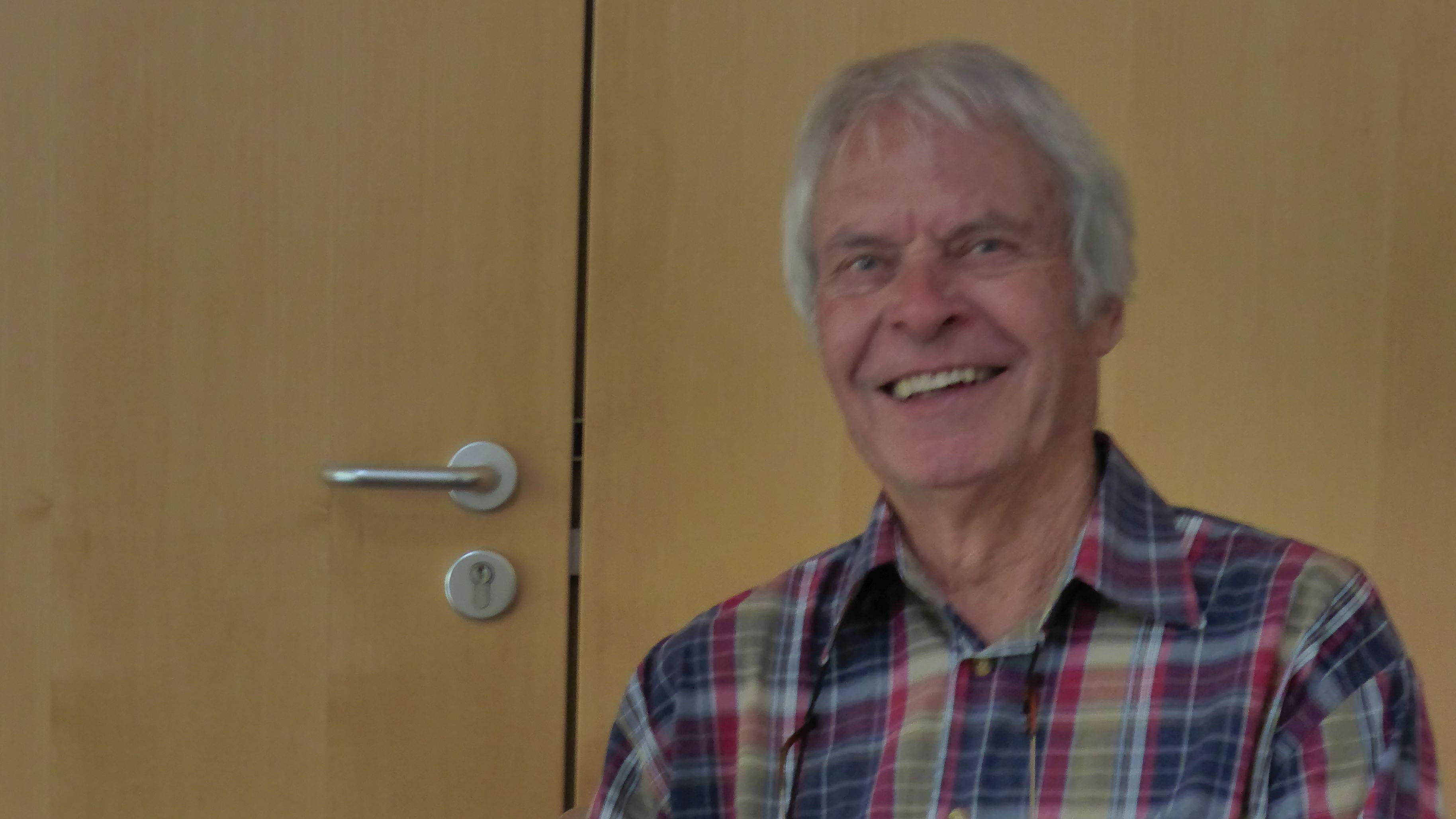 Der vermisste 77- jährige Michael Johannes Bergmann aus Weiden