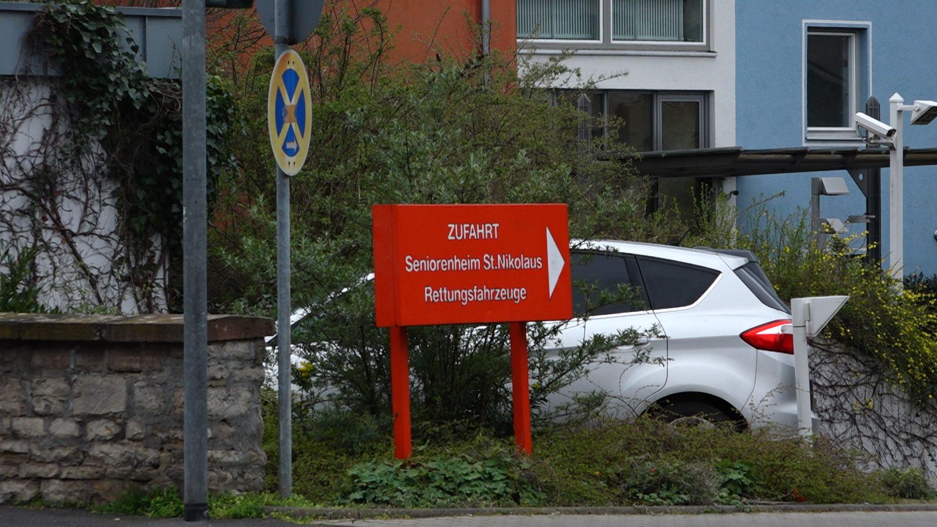 Seniorenheim St. Nikolaus im Würzburger Stadtteil Sanderau