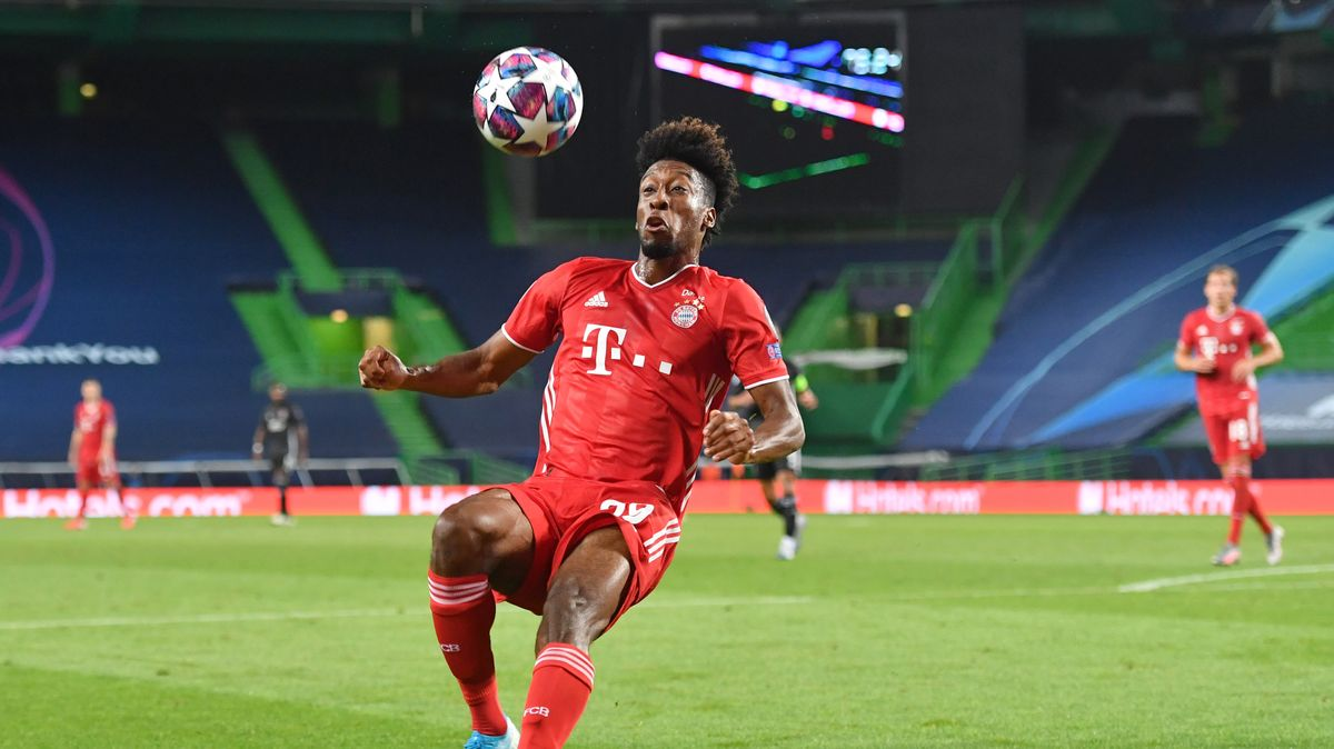 Kingsley Coman in Aktion