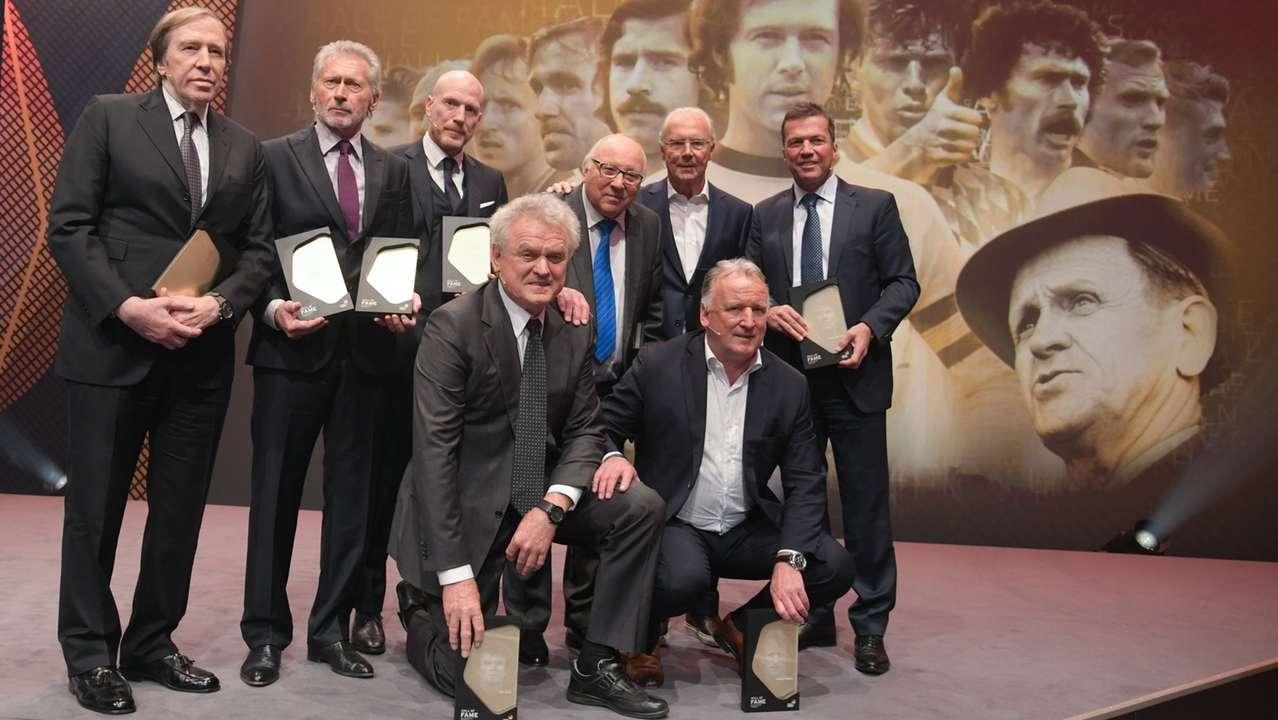 Gala zur Einweihung der Hall of Fame des deutschen Fußballs