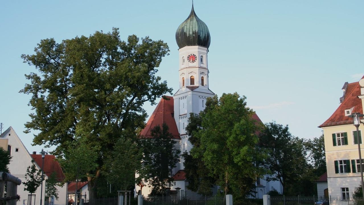 Dorfplatz von Niederraunau