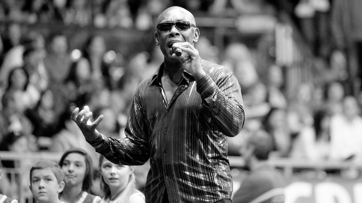 Der Sänger bei einem Konzert im März 2012