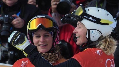 Selina Jörg und Ramona Hofmeister