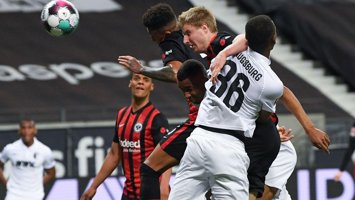 Eintracht Frankfurt gegen FC Augsburg