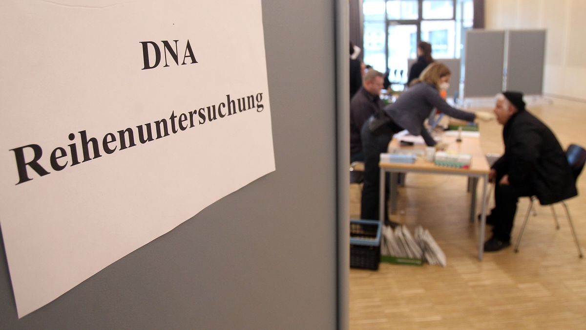 DNA Reihenuntersuchung