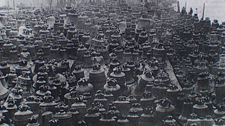 Der Glockenfriedhof in Hamburg.