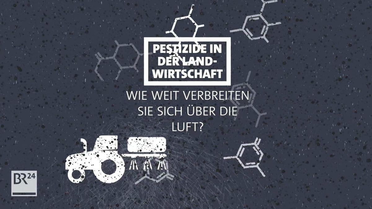 Pestizide – Wie weit verbreiten sie sich über Luft?
