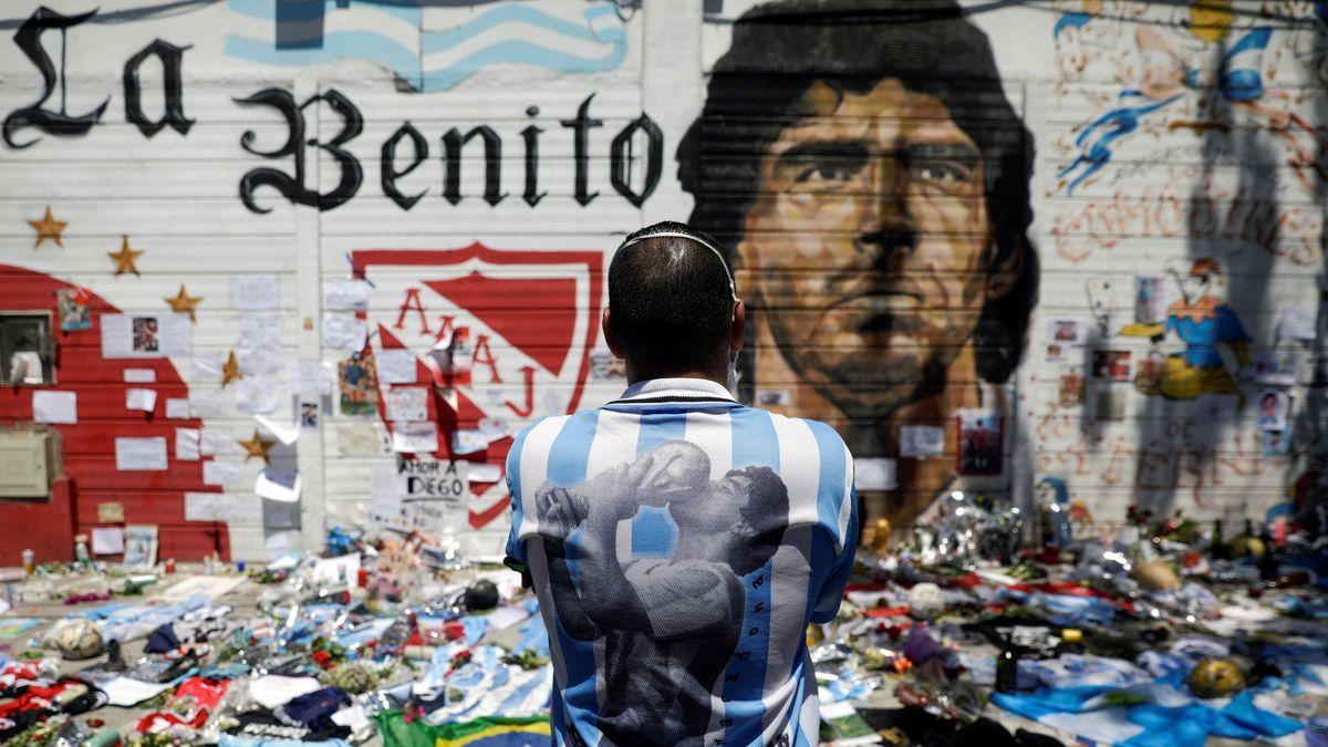 Fans auf der ganzen Welt trauern um Maradona