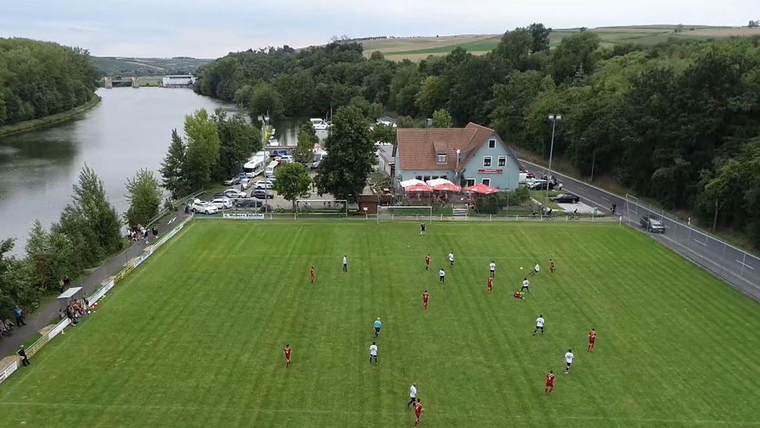 Fußballplatz in Wipfeld