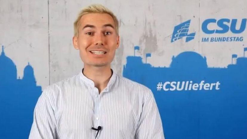 CSU-Social-Media-Chef Armin Petschner auf Youtube