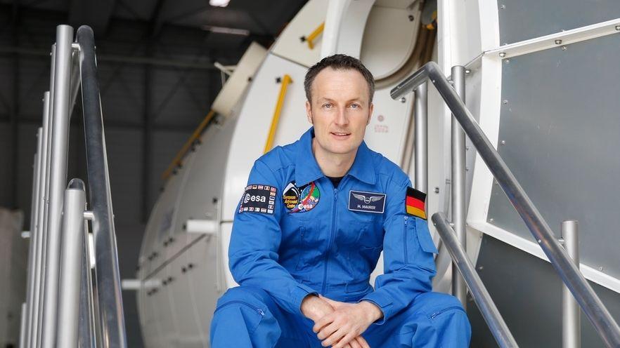 Der deutsche Astronaut Matthias Maurer. Er ist mit Alexander Gerst der zweite Deutsche im aktiven ESA-Astronauten-Korps.