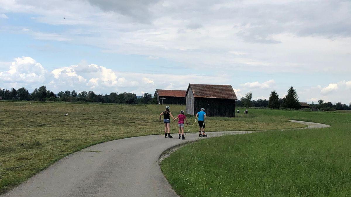 Unterwegs im Grenzgebiet zwischen den Landkreisen Garmisch-Partenkirchen und Bad Tölz-Wolfratshausen