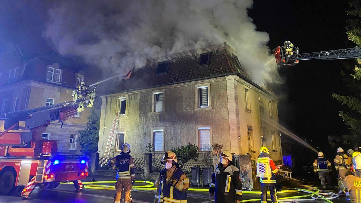 Wohnhausbrand in Zeil am Main